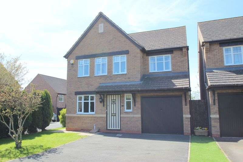 4 Bedrooms Detached House for sale in Brunel Way, Honeybourne