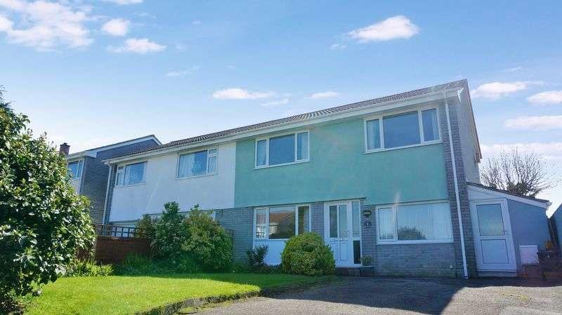 4 Bedrooms Semi Detached House for sale in Dobwalls, Liskeard