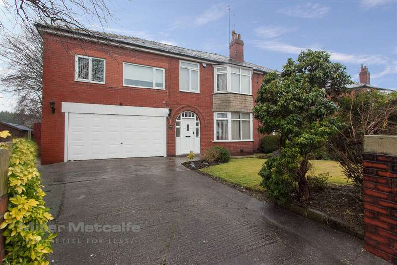 6 Bedrooms Semi Detached House for sale in Ashbourne Avenue, The Haulgh, Bolton, Lancashire