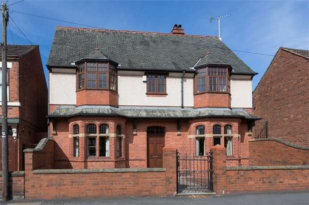 4 Bedrooms Detached House for sale in Percy Road, Wrexham