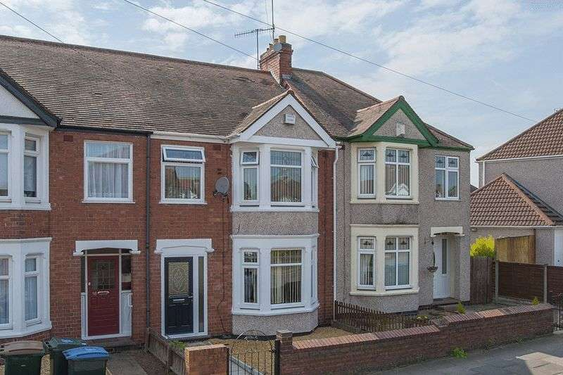 3 Bedrooms Terraced House for sale in William Bristow Rd, Cheylesmore, Coventry