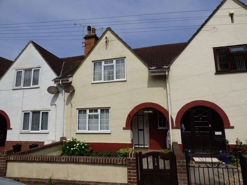 2 Bedrooms Terraced House for sale in Uphill Way, Weston-Super-Mare