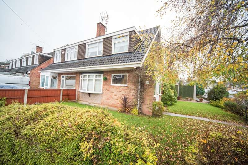 3 Bedrooms Semi Detached House for sale in Beechwood Avenue, Leicester, Leicestershire, LE3