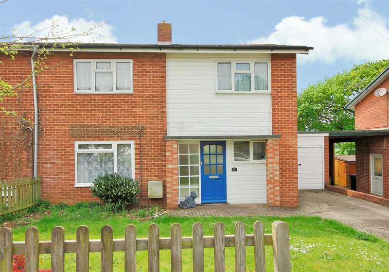 3 Bedrooms Semi Detached House for sale in Poultons Close, Overton