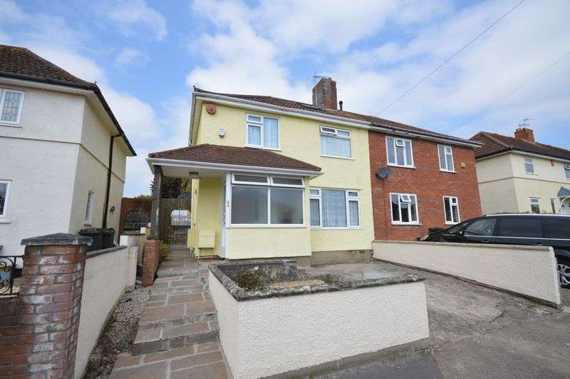 4 Bedrooms Semi Detached House for sale in Tyntesfield Road, Bedminster Down, Bristol
