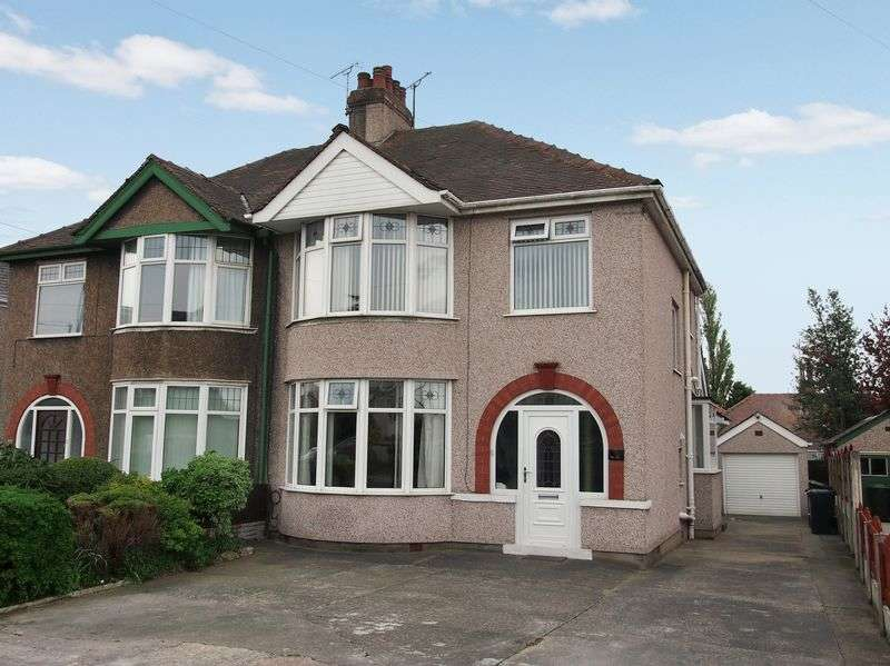 3 Bedrooms Semi Detached House for sale in Torrisholme Road, Lancaster