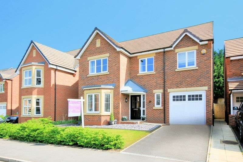 4 Bedrooms Detached House for sale in Candler Drive, Stone