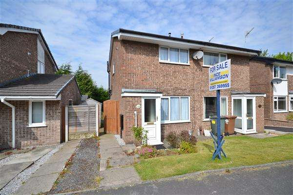 2 Bedrooms Semi Detached House for sale in Foxcote, Astley Village, Chorley