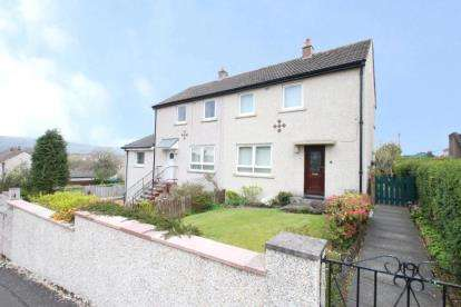 2 Bedrooms Semi Detached House for sale in Bothlyn Avenue, Kirkintilloch, Glasgow, East Dunbartonshire
