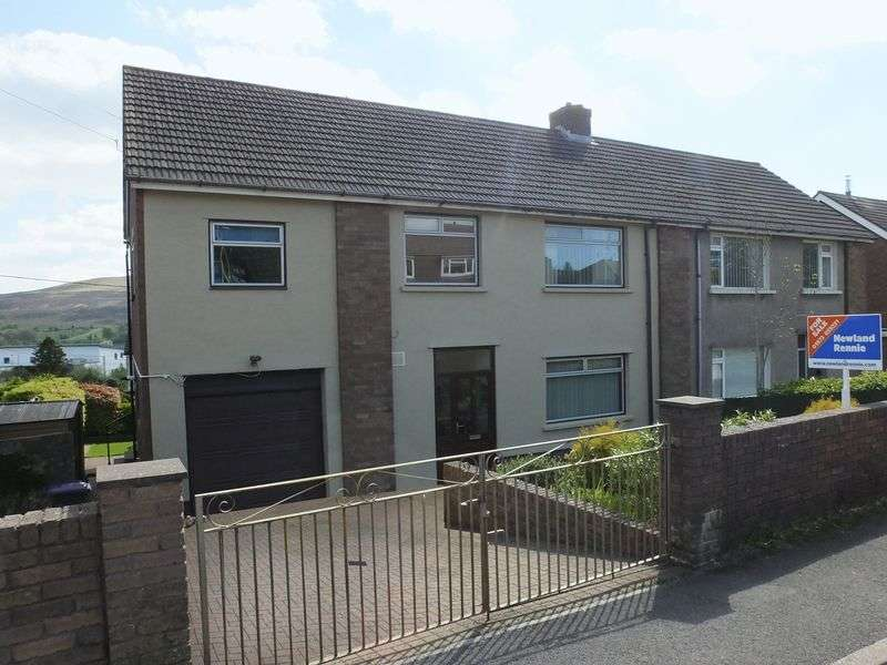 4 Bedrooms Semi Detached House for sale in Coed Cae Road, Blaenavon