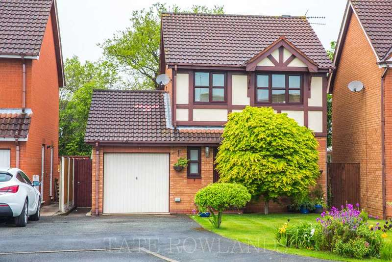 3 Bedrooms Detached House for sale in Ffordd Y Fran, Flint