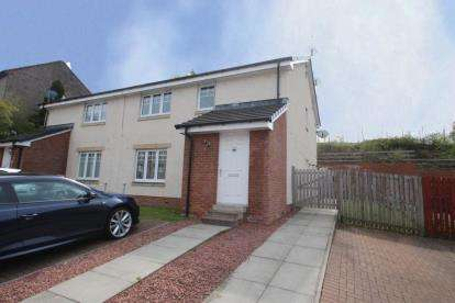 2 Bedrooms Flat for sale in Divernia Way, Barrhead, Glasgow, East Renfrewshire