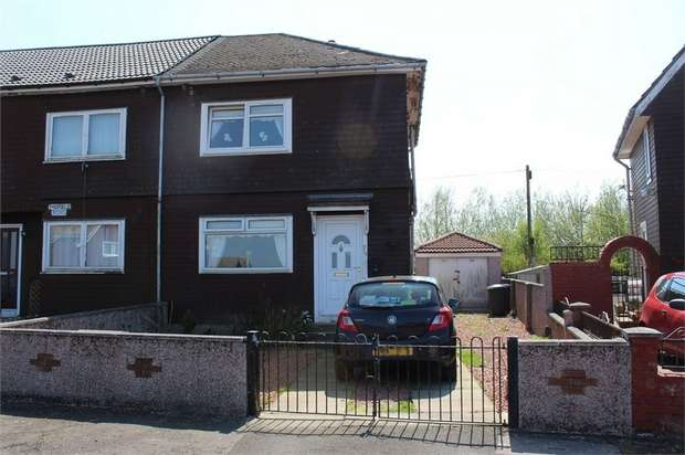 2 Bedrooms End Of Terrace House for sale in Midfield Road, Coalburn, Lanark