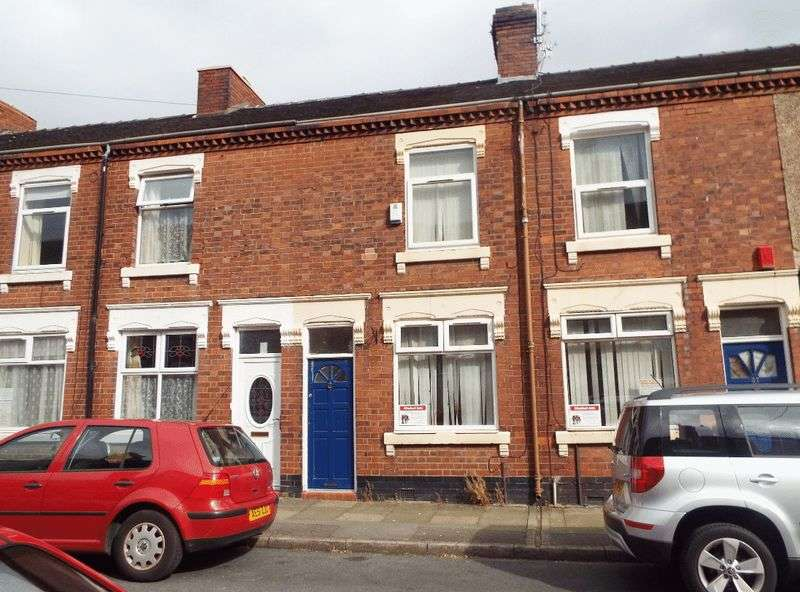2 Bedrooms Terraced House for sale in Watford Street, Shelton, Stoke-On-Trent