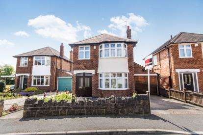 3 Bedrooms Detached House for sale in Brendon Drive, Wollaton, Nottingham, Nottinghamshire
