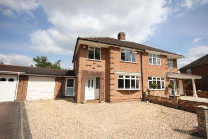 3 Bedrooms Semi Detached House for sale in Foxlease, Bedford, Bedfordshire