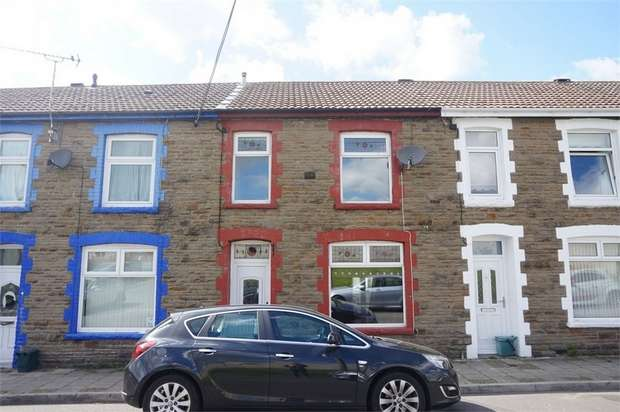 3 Bedrooms Terraced House for sale in Gellideg Street, Maesycwmmer, Hengoed, Caerphilly