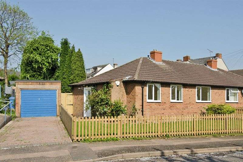 2 Bedrooms Semi Detached Bungalow for sale in Millmoor Avenue, Rugeley