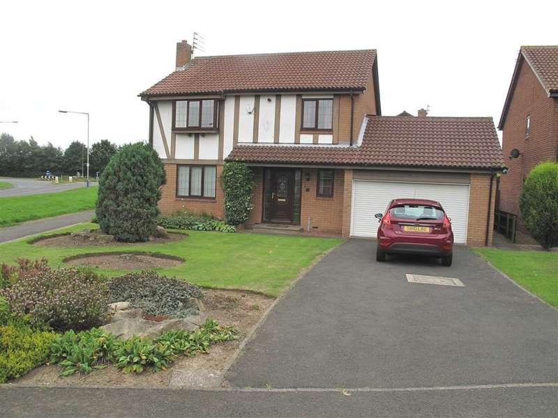 4 Bedrooms Detached House for sale in Sandford Avenue, Northburn Lea, Cramlington