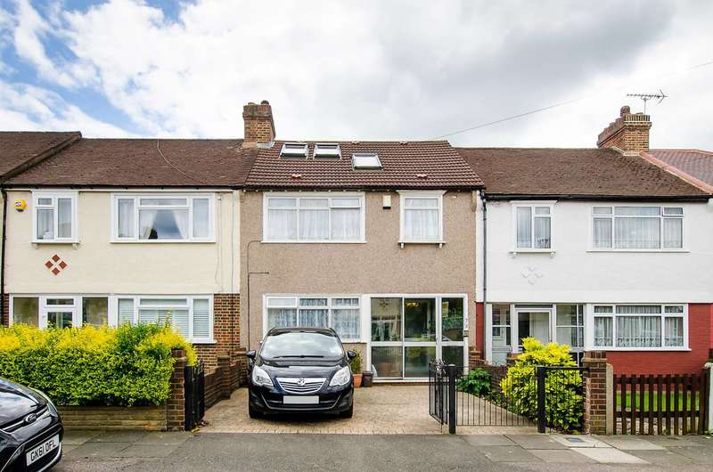 4 Bedrooms Terraced House for sale in Brockenhurst Way, Norbury, SW16