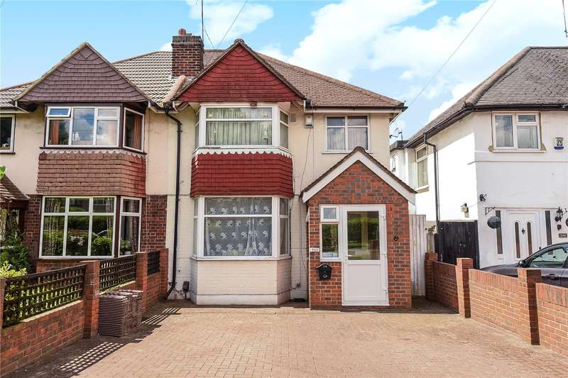 3 Bedrooms Semi Detached House for sale in West End Road, Ruislip, Middlesex, HA4