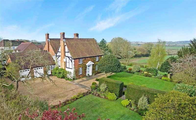 4 Bedrooms Detached House for sale in High Street, Whaddon, Milton Keynes, Buckinghamshire, MK17