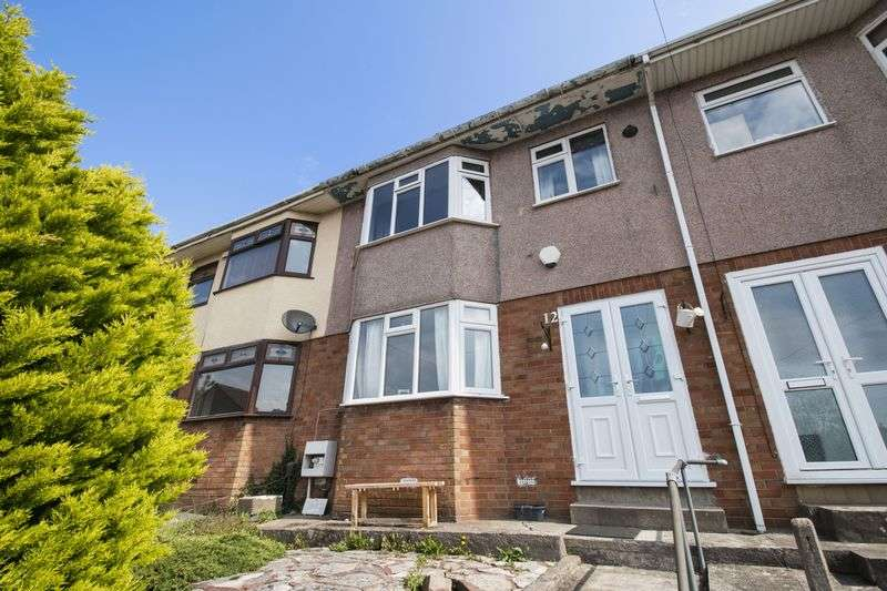 3 Bedrooms Terraced House for sale in Shelley Close, Bristol