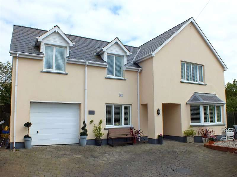 4 Bedrooms Detached House for sale in Jasmine House, High Street, St. Florence, Tenby
