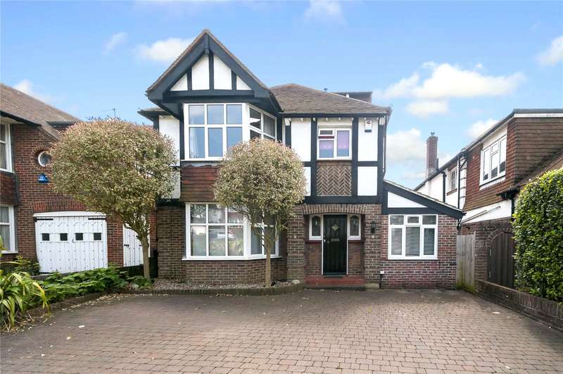 4 Bedrooms Detached House for sale in Goldstone Crescent, Hove, East Sussex, BN3