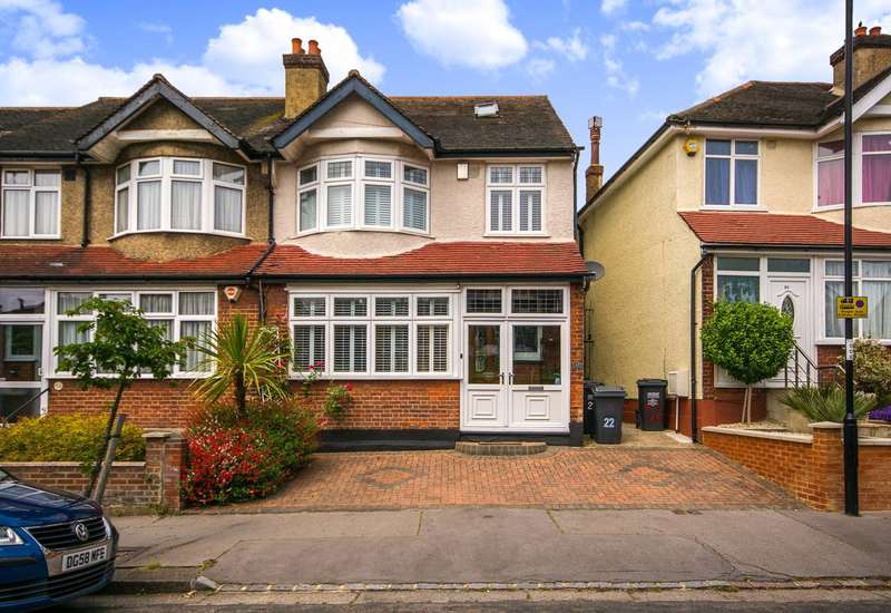 4 Bedrooms House for sale in Waddon Park Avenue, Croydon, CR0