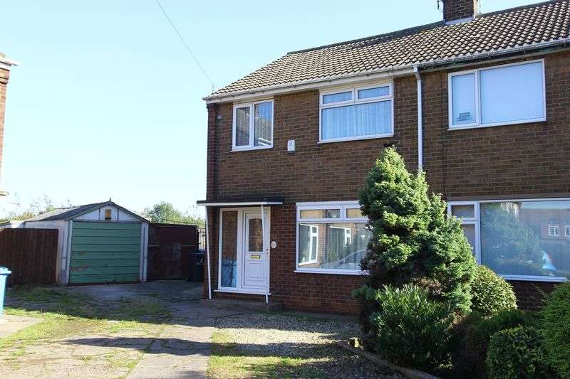 3 Bedrooms Semi Detached House for sale in Elston Close, Hull