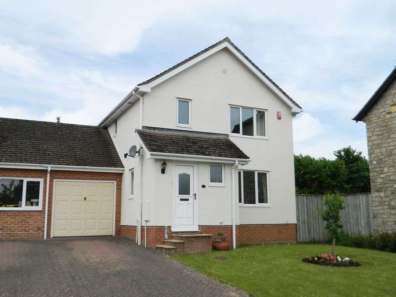 3 Bedrooms Detached House for sale in Staples Meadow, Chard