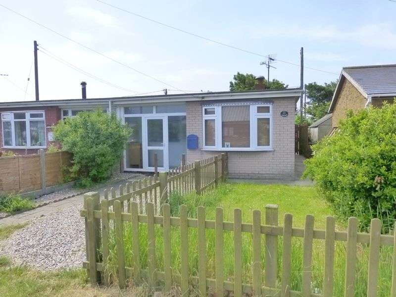 2 Bedrooms Semi Detached Bungalow for sale in Eccles on Sea