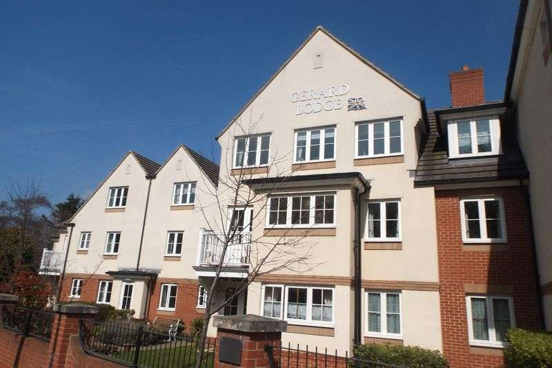 1 Bedroom Flat for sale in Gerard Lodge, Upper Bognor Road, Bognor Regis: RECENTLY REDUCED One bed second floor retirement apartment