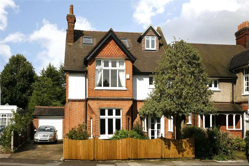 4 Bedrooms Detached House for sale in Kingswood Road, London, SW19
