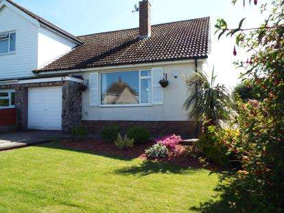 2 Bedrooms Semi Detached House for sale in Bryn Avenue, Old Colwyn, Colwyn Bay, Conwy, LL29