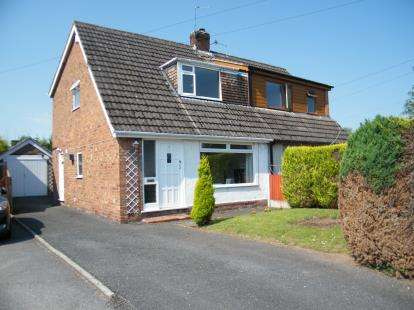 2 Bedrooms Semi Detached House for sale in Sandyhill Place, Winsford, Cheshire, CW7