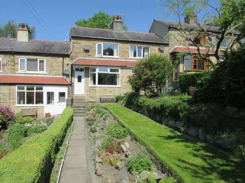 2 Bedrooms Terraced House for sale in Highfield Crescent, Hebden Bridge