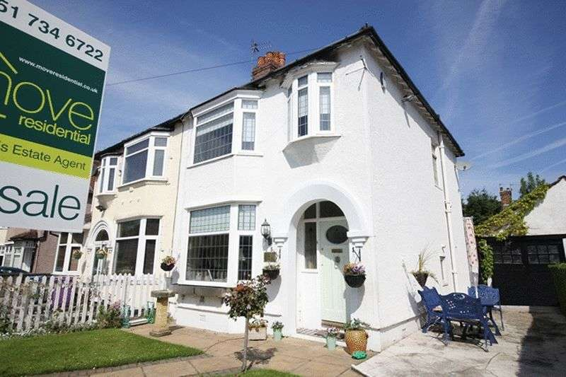 3 Bedrooms Semi Detached House for sale in Lismore Road, Mossley Hill, Liverpool, L18