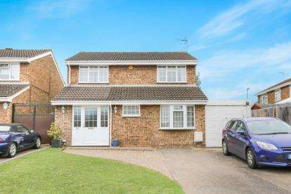 4 Bedrooms Detached House for sale in Brill Close, Luton, Bedfordshire