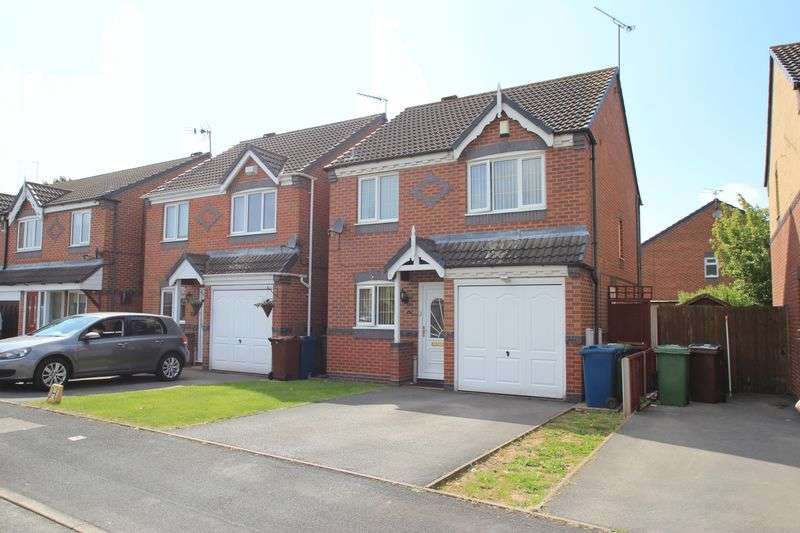 3 Bedrooms Detached House for sale in Astoria Drive, Crofterwood, Stafford