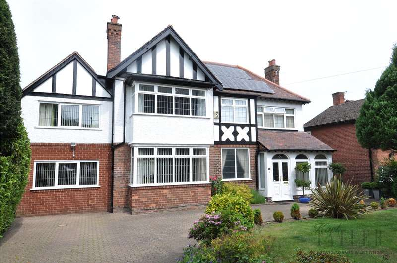 5 Bedrooms Detached House for sale in Manor Drive, Upton, Wirral
