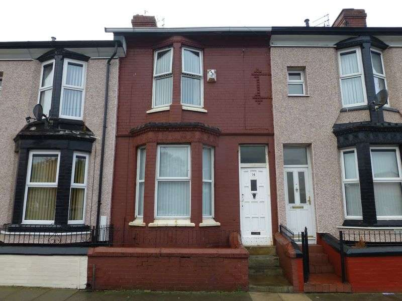 2 Bedrooms Terraced House for sale in Hornby Boulevard, Liverpool