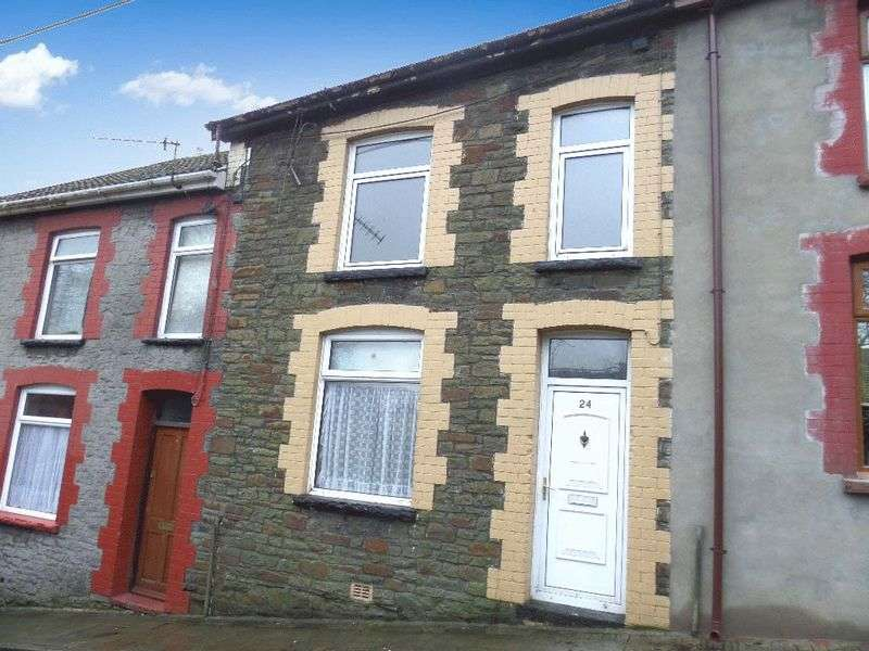 2 Bedrooms Terraced House for sale in Troedyrhiw Road, Porth, CF39 0DP