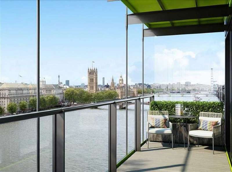 3 Bedrooms Property for sale in Merano Residences, Albert Embankment, London, SE1