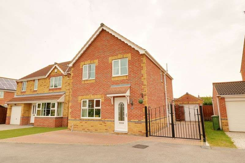 4 Bedrooms Detached House for sale in Herriot Walk, Scunthorpe
