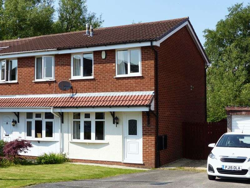 2 Bedrooms Semi Detached House for sale in 19 Hurst Brook, Coppull, PR7 4QT