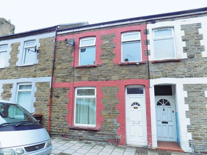 2 Bedrooms Terraced House for sale in Goodrich St, Caerphilly