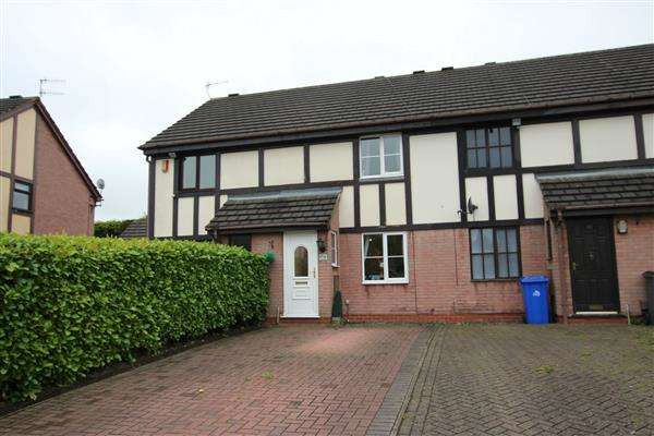 2 Bedrooms Terraced House for sale in Ledstone Way, Meir Hay, Stoke-on-Trent