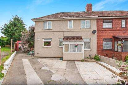 3 Bedrooms Semi Detached House for sale in Kelston Walk, Bristol, Somerset